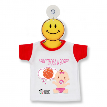 Mini T Shirt baby tifosa basket