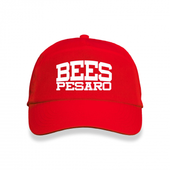 Cap Bees Red stampa Kid